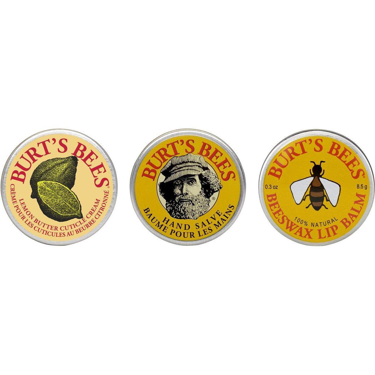 Подарочный набор ухаживающей косметики Burt's Bees Classic Tin Trio Gift Set