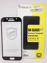 Защитное стекло Samsung A520 Ipaky 4D Black