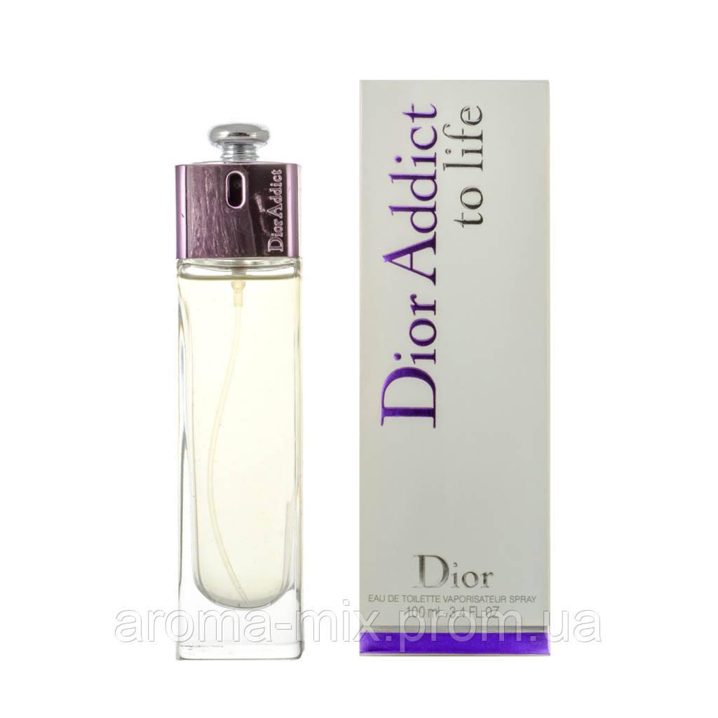 Christian Dior Addict To Life - женская туалетная вода
