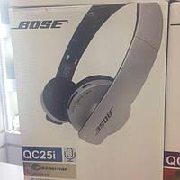 BOSE QC25i Bluetooth стерео наушники с МР3 и FM беспроводные