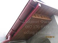 Софіт для підшивки даху, звисів,софити пластикові золотий дуб, граіт, чорний, білий, горіх, коричневий