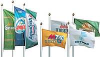Флаги рекламные и корпоративные