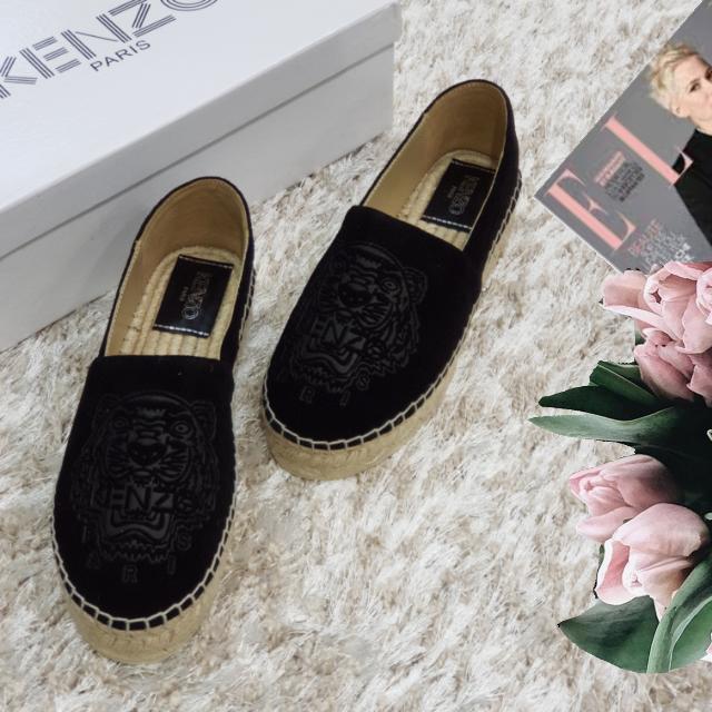 1f9b1bd5b676 Эспадрильи женские брендовые из натуральной кожи на платформе черные