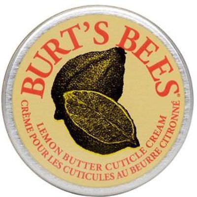 burt's bees lemon cuticle cream