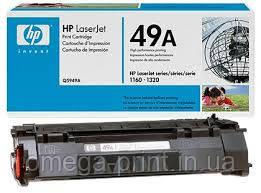 Заправка картриджа  HP 1160/1320/3390/3392 (Q5949A)
