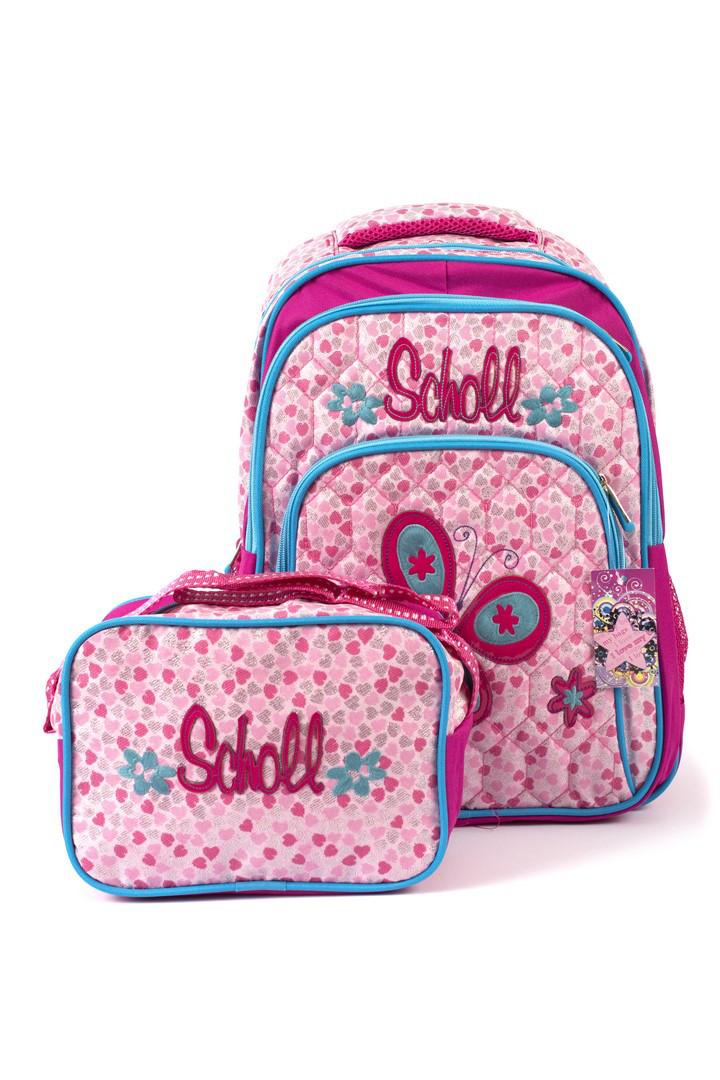 Рюкзак школьный Fashion 1504 розовый Турция