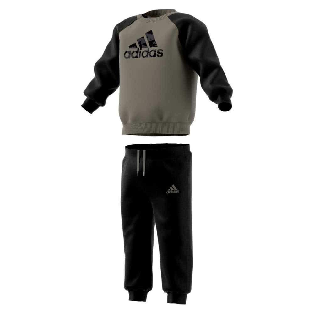 Оригинальный детский cпортивный костюм Adidas I E LOGO JOG FL