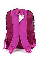 Рюкзак школьный Monster High smole 1858 розовый Турция, фото 3