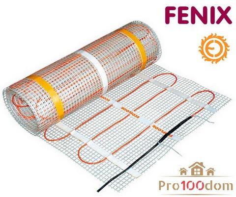 Нагрівальний мат Fenix 7.55 кв.м 1210 Вт Тепла підлога під плитку
