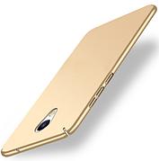 Пластиковый чехол для Meizu M5 Note Gold
