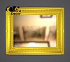 Дзеркало настінне Indore в золотій рамі, фото 2