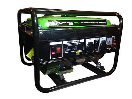 Бензиновий генератор CRAFT-TEC PRO GEG 3800, фото 2