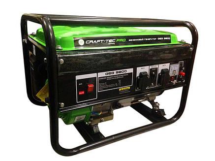 Бензиновый генератор CRAFT-TEC PRO GEG 3800, фото 2