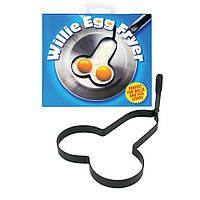 Форма для кухни в виде члена Willie Egg Fryer