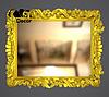 Зеркало настенное Gomel в золотой раме, фото 2