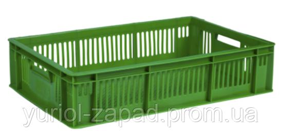 Ящик пластмассовый 600*400*140 перфорированный ( для суточных цыплят) - ЧП «ЮРИОЛ-Запад» в Тернополе