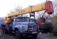 """Аренда автокран """"ГЯ"""" КС-3575А 10 тонн,15.5 метров стрела"""