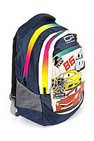 Рюкзак школьный Тачки 1401 синий Турция, фото 2