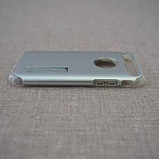 Чехол Spigen Slim Armor iPhone 7 satin silver (042CS20305) EAN/UPC: 8809466644542, фото 3