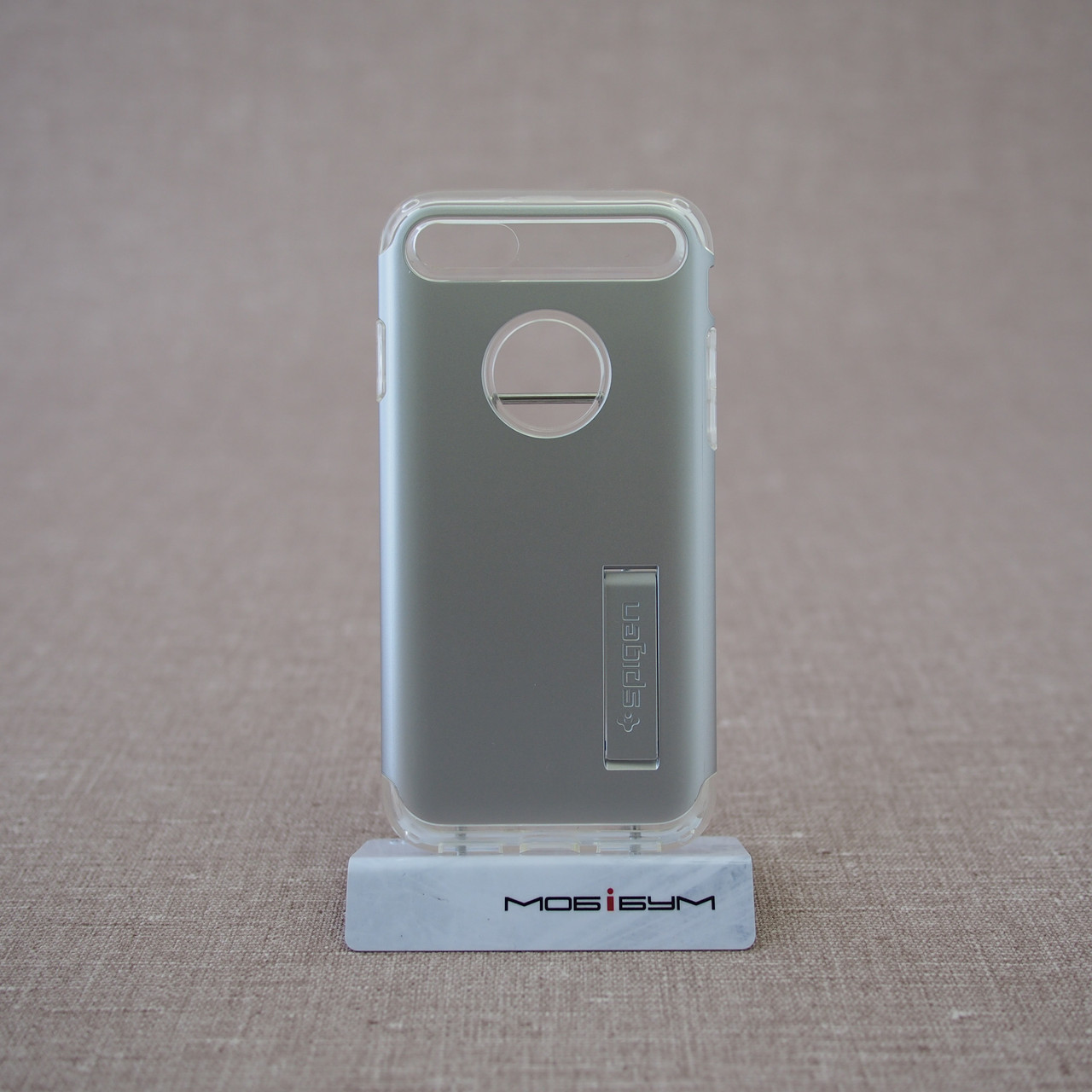 Чехол Spigen Slim Armor iPhone 7 satin silver (042CS20305) EAN/UPC: 8809466644542
