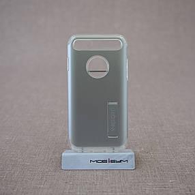 Чехол Spigen Slim Armor iPhone 7 satin silver (042CS20305) EAN/UPC: 8809466644542, фото 2