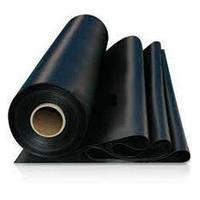 Пленка строительная полиэтиленовая черная 120мкм 6*50м ГОСТ