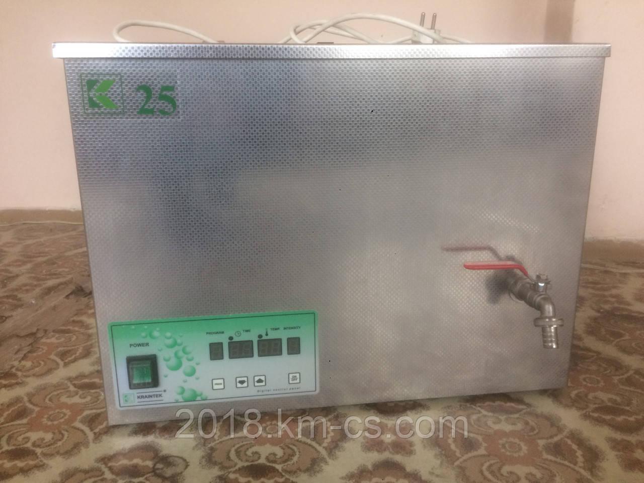 Ультразвуковая ванна с электронным управлением Kraintek K-25E (25 л)