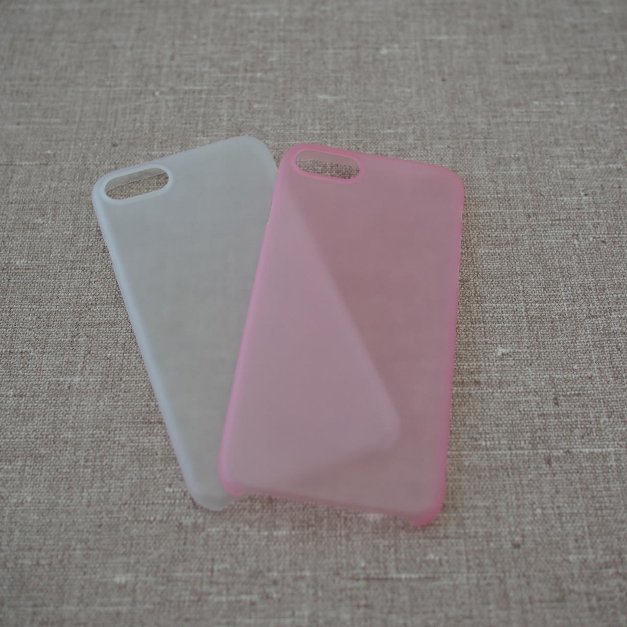 "Чохол Ozaki O! Coat 0.3 iPhone 8/7 {4.7 ""} Jelly 2 in 1 clear / pink (OC720CP) EAN / UPC: 4718971720037"
