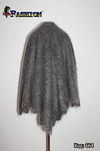 Оренбургский серый пуховой платок Джамалия 105, фото 2
