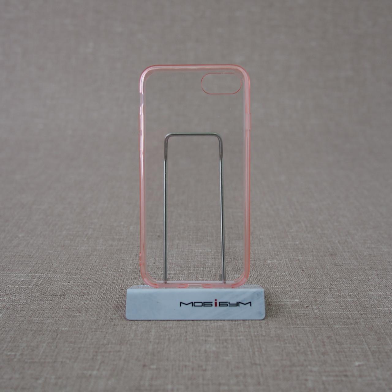 Чехол Ozaki O!coat Crystal+Dual Crystal iPhone 7 pink
