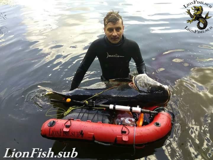 Плот LionFish.sub Буй для Подводной Охоты, Дайвинга, Фридайвинга