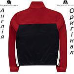 Кофта Lonsdale из Англии для мальчиков 2-14 лет - для бега красно-черная, фото 2