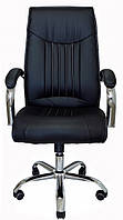 Компьютерное кресло Richman Франкфурт-Ю черное на колесиках Хром