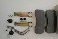 Колодки тормозные дисковые MAN 2000, TGA, MB, KASSBOHRER, RVI MAGNUM, комплект WVA 29030, фото 1