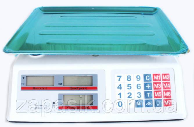 Торговые Электронные Весы DT 40 кг am