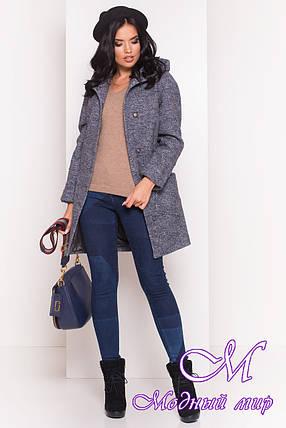 """Женское короткое демисезонное пальто (р. S, M, L) арт. """"Анита 4413"""" - 21588, фото 2"""