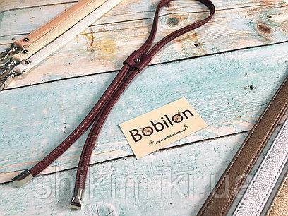 Затяжка для сумки из эко-кожи,цвет Бордо
