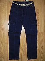 Брюки джинсовые на девочку оптом, Glo-story, 116-146 рр