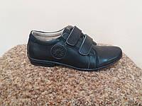 Туфли рр 34-36 кожа Шалунишка черные