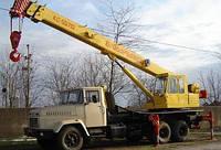 """Аренда автокран  """"Броварчанец"""" КС-55712  25 тонн, 22 метров стрела"""