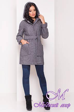 """Женское короткое весеннее пальто (р. S, M, L) арт. """"Анита 4413"""" - 21200, фото 2"""