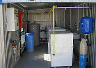 Газовая модульная транспортабельная котельная КМ-2 200 кВт с котлами Колви КТН 100 СЕ