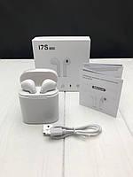 5 цветов Беспроводные наушники I7s TWS Bluetooth c кейсом аналог AirPod Apple реплика