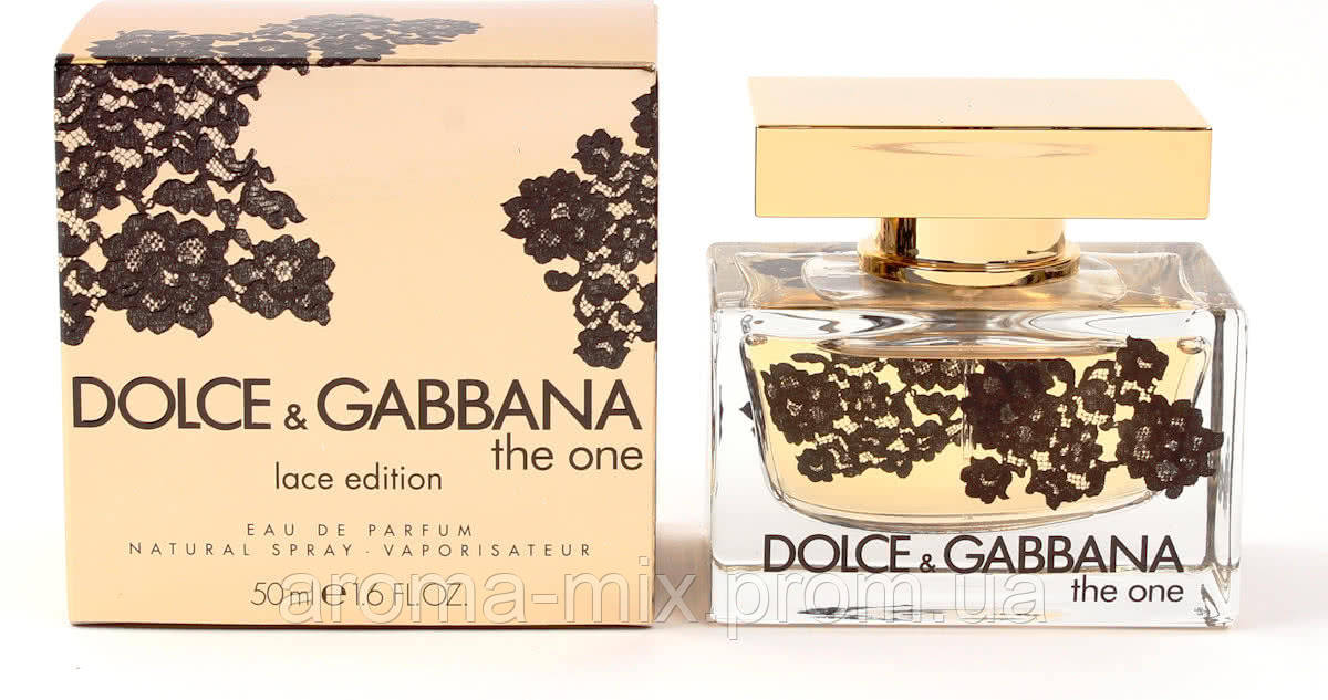 Dolce&Gabbana The One Lace Edition - женская туалетная вода