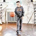 Брюки Lonsdale из Англии для мальчиков 2-14 лет - для бега коричневые , фото 6