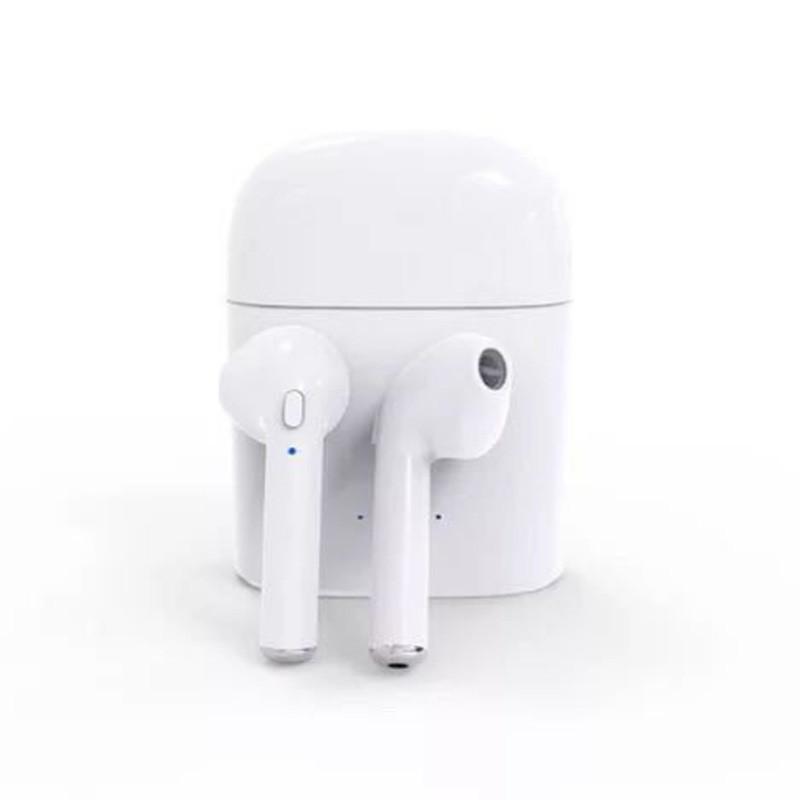Bluetooth наушники HBQ I7s (белые)