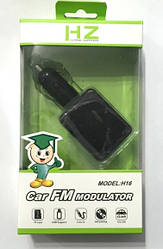 FM Трансмиттер Модулятор HZ H 16 для Авто am