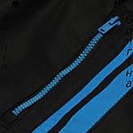 Брюки Lonsdale из Англии для мальчиков 2-14 лет - для тренеровок черные, фото 5