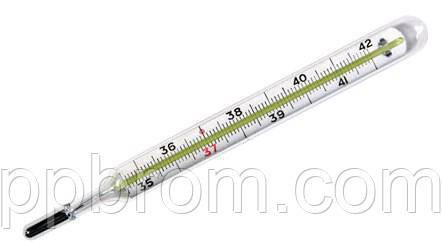 Ртутный медицинский градусник