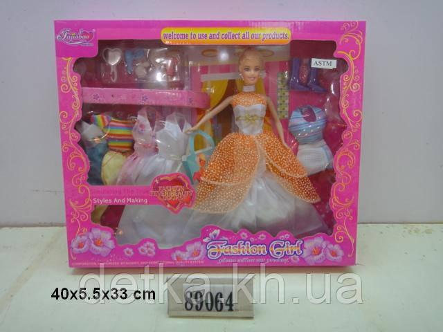 """Кукла 11,5"""" Fajiabao 89064 с нарядами"""